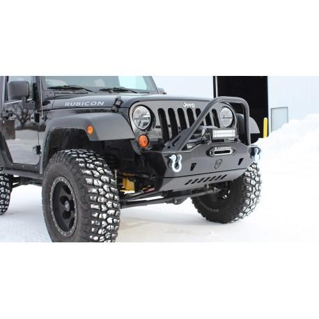 JK Front Bumper | Mauler Stubby | Jeep Wrangler (07-16)